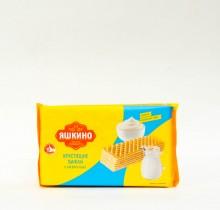 """Хрустящие вафли сливочные """"Яшкино"""" 200 гр"""