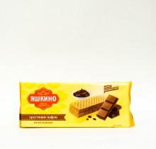 """Хрустящие шоколадные вафли """"Яшкино"""" 300 гр"""