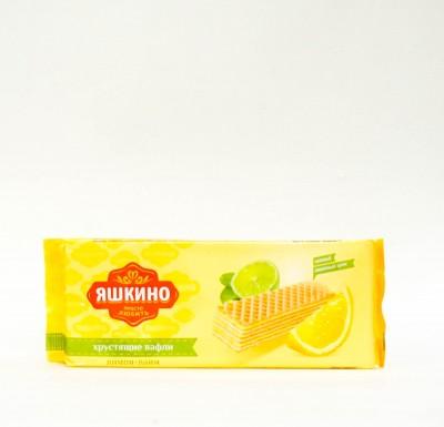 """Вафли лимон-лайм """"Яшкино"""" 300 гр_0"""