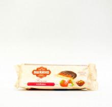 """Бисквитное печенье с клубникой """"Яшкино"""" 137 гр"""