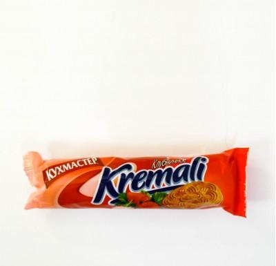 Печенье Kremali КЛУБНИЧНОЕ (Кухмастер) 100г_0