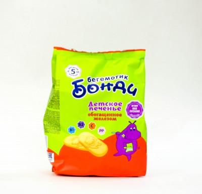 """Детское печенье """"Бегемотик Бонди"""" 180 гр_0"""