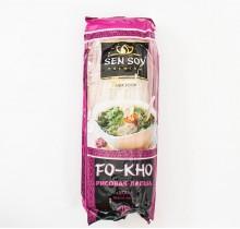 Лапша рисовая плоская FO-КНО 200г (Сэн-Сой)