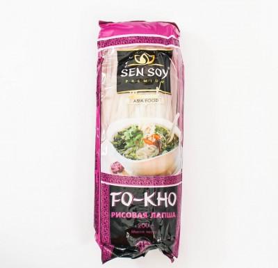 Лапша рисовая плоская FO-КНО 200г (Сэн-Сой)_0