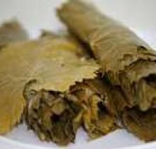 Виноградные листья соленые 0,7 кг (ведро)