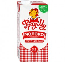 Молоко Фрау МУ 950 гр 3,2%