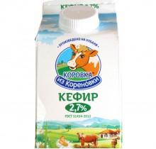 Кефир Коровка из Кореновки 2,7% 0,45л