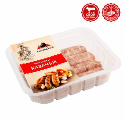 Колбаски КАЗАЧЬИ замороженные 0,5 кг (Каневской)_0