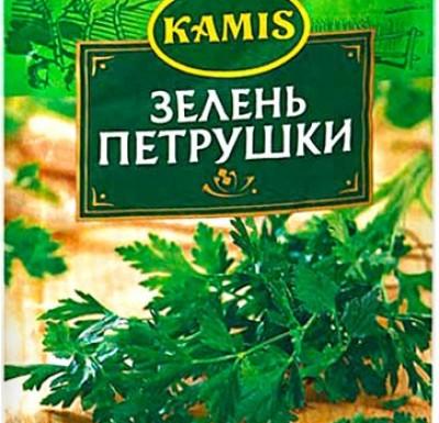 Петрушка (зелень сушеная) 10г _0