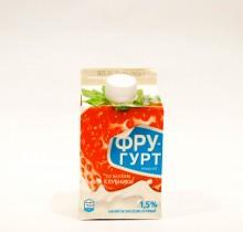 Йогурт Фругурт КЛУБНИКА 1,5% 475г