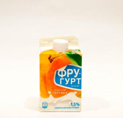 Йогурт Фругурт ПЕРСИК 1,5% 475г_0