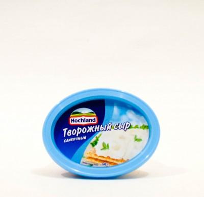 Сыр Хохланд Творожный СЛИВОЧНЫЙ 140г_0
