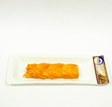 Сыр  копчёный КОСА  на подложке ≈100г  (ст. Гиагинская)