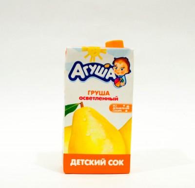 Агуша Сок ГРУША 0,5л_0