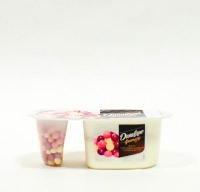 Йогурт Даниссимо ФАНТАЗИЯ + Хрустящие шарики в ассортименте 6,9% 105г_1