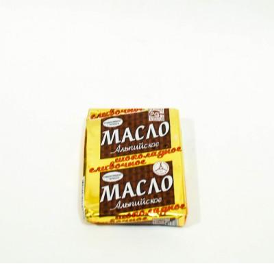 Масло Сливочное Шоколадное Альпийское 52% 170г_0
