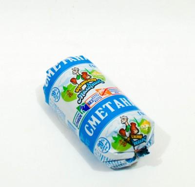 Сметана Кубанский Молочник 20% 180г_0