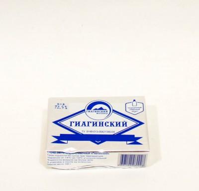 Масло сливочное Гиагинское 72,5% 180г (спред)_0