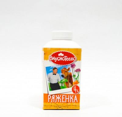 Ряженка Вкуснотеево 4% 0,5л_0