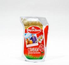 Сливки Ультрапастеризованные Вкуснотеево 20% 125мл