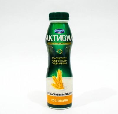 Активиа питьевая 290 гр в ассортименте _0
