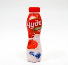Йогурт Чудо питьевой в ассортименте 2,4% 290г.