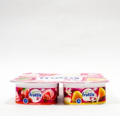 Йогурт Фруттис АССОРТИ 8% 4х115_0