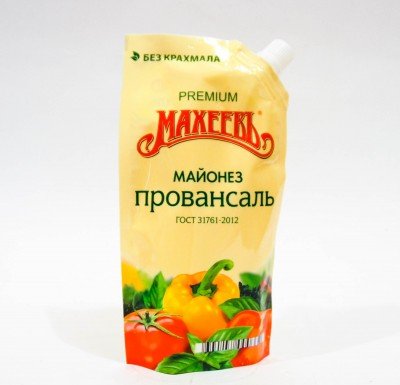 Майонез Махеев ПРОВАНСАЛЬ ПРЕМИУМ дой-пак 800мл_0