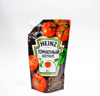 Кетчуп  Heinz ТОМАТНЫЙ дой-пак 350г_0