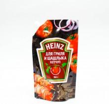 Кетчуп  Heinz ДЛЯ ГРИЛЯ И ШАШЛЫКА дой-пак 350г