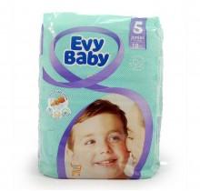 Подгузники EVY BABY  №5 11-25кг (20 шт)