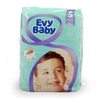 Подгузники EVY BABY  №5 11-25кг (20 шт)_0