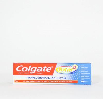 Зубная паста Колгейт ТОТАЛ Профессиональная Чистка  75мл_0