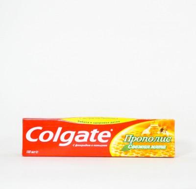 Зубная паста Колгейт Прополис и Свежая мята  100мл_0