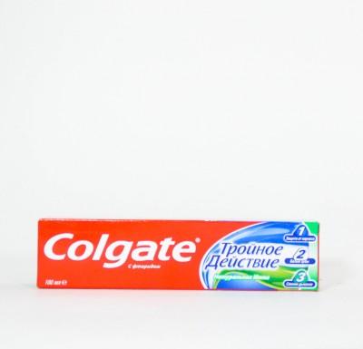 Зубная паста Колгейт Тройное Действие  100мл_0