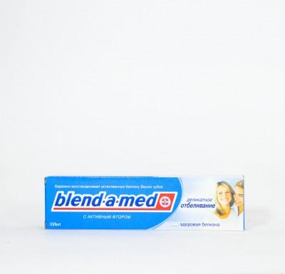 Зубная паста Бленд-а-мед  Деликатное Отбеливание 100мл_0