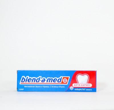 Зубная паста Бленд-а-мед  АНТИ-КАРИЕС  100мл_0