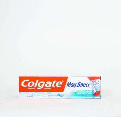 Зубная паста Колгейт ТОТАЛ Макс Блеск  100мл_0