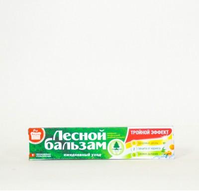 Зубная паста Лесной бальзам Тройной Эффект 75мл_0