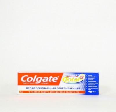 Зубная паста Колгейт ТОТАЛ Профессиональное Отбеливание  75мл_0