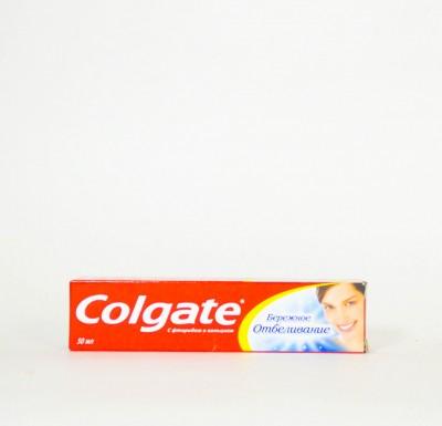 Зубная паста Колгейт Бережное Отбеливание  50мл_0