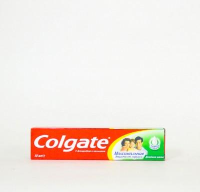 Зубная паста Колгейт Максимальная Защита  50мл_0