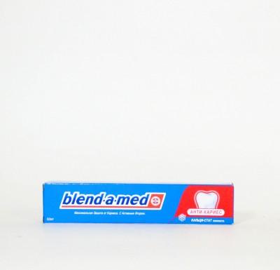 Зубная паста Бленд-а-мед  АНТИ-КАРИЕС  50мл_0