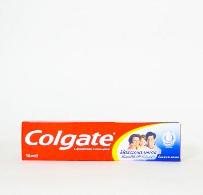 Зубная паста Колгейт Максимальная Защита  100мл_0