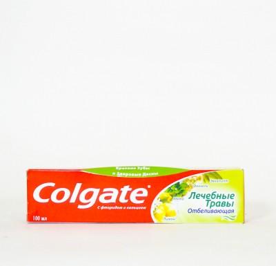 Зубная паста Колгейт Лечебные Травы Отбеливающая  100мл_0