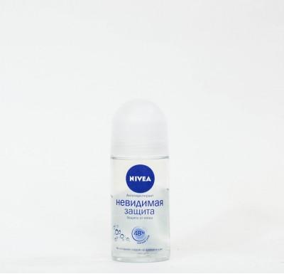 Антиперспирант шариковый NIVEA  Невидимая защита 50 мл._0
