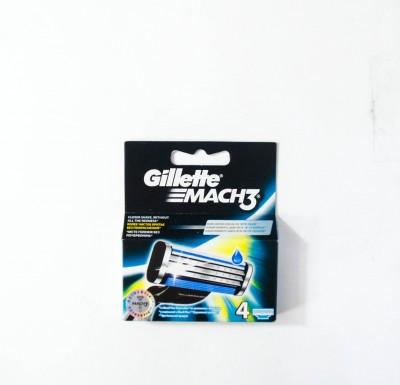 Кассеты для бритья Gillette MACH 3 4шт_0