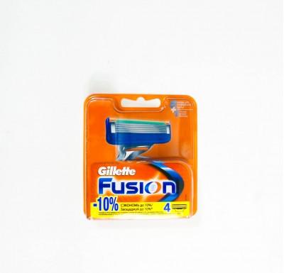 Кассеты для бритья Gillette FUSLON  4шт_0
