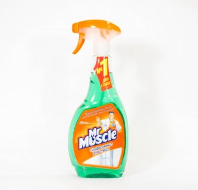 Моющее средство для стекол Мистер Мускул 500мл_0