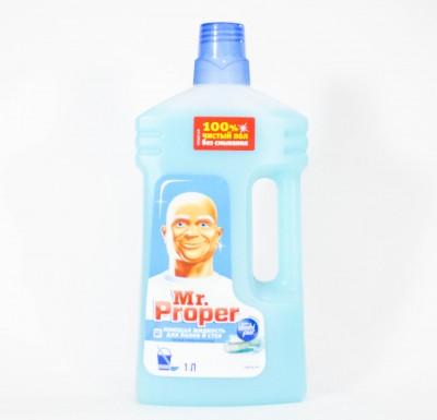 Моющее средство мистер Пропер для пола и стен 1л_0